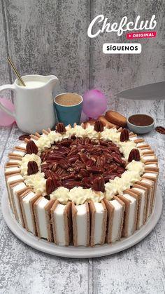 Fun Baking Recipes, Kit Kat Recipes, Snack Recipes, Dessert Recipes, Cake Recipes, Amazing Food Videos, Comida Diy, Delicious Desserts, Yummy Food