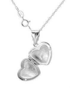 Chateau D'Argent Heart Locket in Sterling Silver