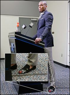 NFL Podium Fashion: Cam Newton's Shoes and Landry Jones Took Our Advice | The Big Lead