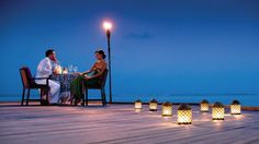 Four Seasons Kuda Huraa  Maldives - Pool Island Dinner Under the Stars in a private gazebo perched over the water, a sumptuous beach barbecue.