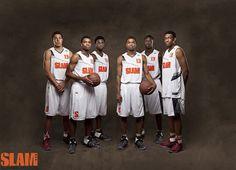 2013 SLAM HS All-Americans -  Aaron Gordon -  Harrison twins - Andrew Wiggins - Julius Randle - Jabari Parker