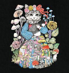 【画像 2/19】リアルな猫が特徴 ヒグチユウコ初の期間限定店をラフォーレで開催 | Fashionsnap.com