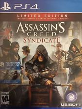 Assassin's Creed: Syndicate Limited Edition NEW (Sony PlayStation 4 2015)