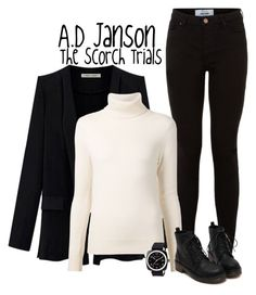 """A.D Janson"" by jen-the-glader ❤ liked on Polyvore featuring Chloé and Briston"