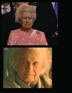 Rainha = Bilbo