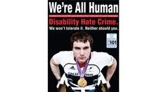 A new disability hate crime campaign is being launched today across Shropshire and Telford.    'We're All Human' is the message behind the new initiative which aims to raise awareness of disability hate crime.