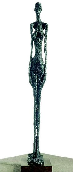 Giacometti - Femme debout.1957 Bronze, 131,5 x 19 x 32,5 cm Fondation Alberto et Annette Giacometti 1959, fondeur Susse Fondeur Fondation Alberto et Annette Giacometti