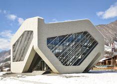 Modern architecture redefines former Soviet republic (Georgia) # 1