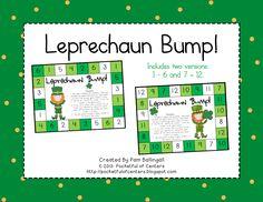Leprechaun Bump - Number Recognition Game $1.50