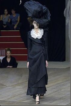 Fashion's Most Wanted: Style Icon: Marchesa Luisa Casati inspired Galliano for Dior