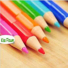 New Stationery cute candy Color fluorescent pen/Korean Style Color Highlighter /Wholesale 42pcs/lot $23.00