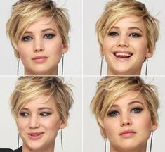 Hair Bob Jennifer Lawrence Style 15 Ideas For 2019 - Bob Frisuren Short Bob Hairstyles, Cool Hairstyles, Haircut Short, Cropped Hairstyles, Pixie Haircut For Round Faces, Pixie Haircut Styles, Messy Pixie Haircut, Short Pixie Haircuts, Hairstyles 2016