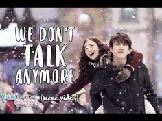 We Don't Talk Anymore [Lyrics] - Aom Sushar & Mike D. Angelo scenes (Music Video) - YouTube