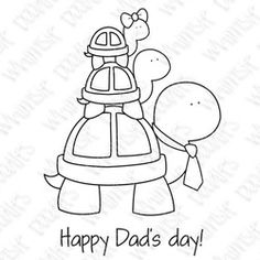 Whimsie Doodles - Happy Dads Day