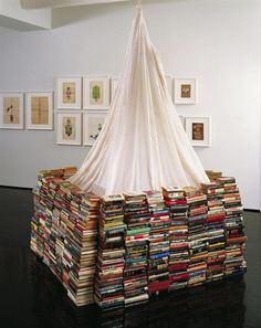 Book Fort by Dash Snow 2006 - 2007
