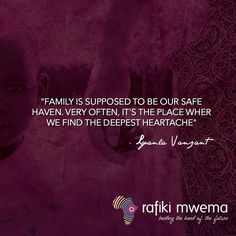 Family is suppose to be our safe haven. Very often, it's the place we find the deepest heartache. Rafiki Quotes, Fully Alive, Safe Haven, Paradox, When Us, Compassion, It Hurts, Love You, Inspirational Quotes