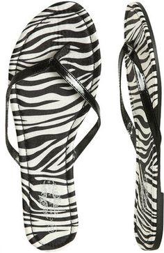 d3feddd960c25 ShopStyle  Animal Print Flip Flop Zebra Print Clothes
