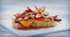 "Cheese glossary & an array of exciting ""grilled cheese' recipes from Wisconsin Cheese...pictured is the Appleton"