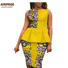 The right picture collection of 2018 latest ankara styles for ladies. Every woman deserves to rock the latest ankara styles of 2018 African Wear Dresses, Latest African Fashion Dresses, African Print Fashion, African Attire, Africa Fashion, Moda Afro, African Traditional Dresses, African Women, Mode Style