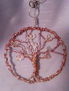 Tree of Hearts Pendant and Necklace by DesignByTweet on Etsy, $25.00