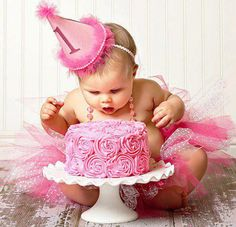 ....having my first birthday party