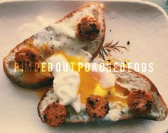 Pimped Out Poached Eggs #foodie #foodblog #thesnobbyfoodie on TheSnobbyFoodie.com