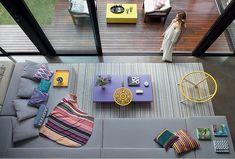 A casa de 412 m² em bairro tranquilo de São Paulo é a concretização do desejo de um casal: viver cercado de crianças e amigos por perto
