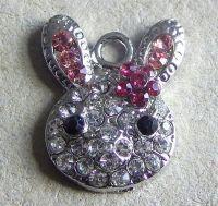 Bunny Sparkel Pendant