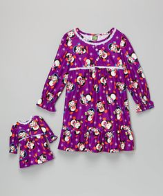 Love this Purple Penguin Nightgown & Doll Outfit - Girls on #zulily! #zulilyfinds