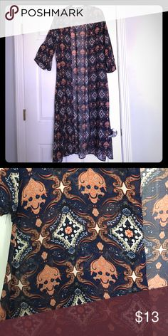 Detailed Sheer Shawl Sz S Never used 45 inches long.  So adorable.  But never had the right occasion to wear. Other