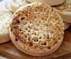 Old Fashioned Home-Made English Crumpets For Tea-Time Recipe - Food.com
