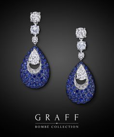 Discover the signature Bombé diamond & gemstone jewellery collection at Graff and explore the extraordinary craftsmanship of our gem setters. Gold Diamond Earrings, Sapphire Jewelry, Diamond Jewelry, Graff Jewelry, Ear Jewelry, Bridal Jewelry, Most Expensive Jewelry, Custom Jewelry, Jewelry Collection
