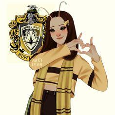 maxy artwork — the avengers as hogwarts houses mantis; Harry Potter Anime, Harry Potter Artwork, Harry Potter Drawings, Harry Potter Wallpaper, Mantis Marvel, Disney Hogwarts, Hogwarts Uniform, Modern Disney Characters, Fictional Characters