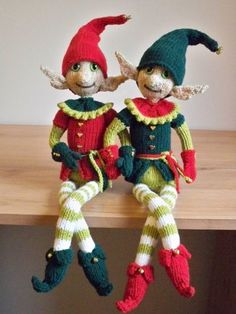 I am sharing a table at a Christmas fair in December. Hollyberry and Mistletoe will be joining my collection of knitted toys and any profit I make on the sale will be passed on to my favourite charity.