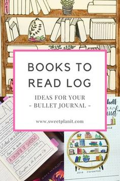 Learn how to create a BOOKS to READ log in your bullet journal to help you read more!