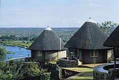 Olifants Restcamp, Kruger National Park, South Africa - Bungalows at the camp with spectacular view across the river and the surrounding bushveld National Park Lodges, Kruger National Park, National Parks, African Interior Design, South Africa Tours, Holiday Places, Holiday Destinations, Out Of Africa, Game Reserve