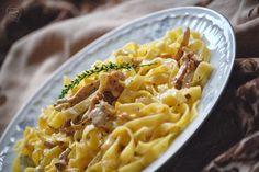 Kuchnia Bazylii: Kurki w sosie śmietanowym