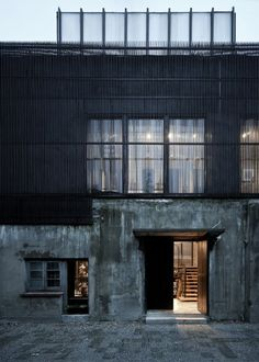The Ceramic House, a warehouse converted in to an artist studio and home by Archi-Union in Shandhai, China