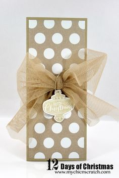 Angie's Day 12 2013 - Money Holder decorated with Best of Christmas and Season of Style dsp.