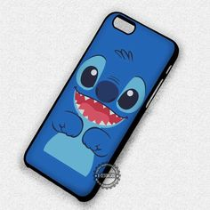 Face Front Vector Character Lilo and Stitch - iPhone 7 6s 5c 4s SE Cases & Covers