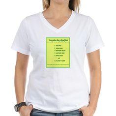 Transfer Day Checklist Women's V-Neck T-Shirt
