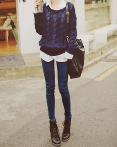 ~Okay she's super thin but I love her clothes