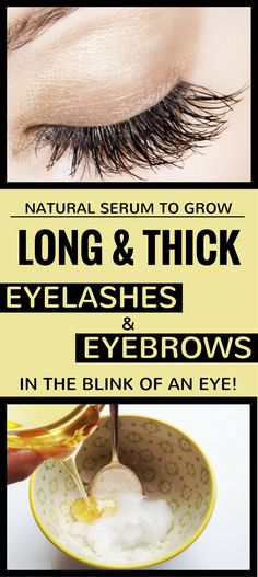 """Beside soft skin and beautiful body shape, among every woman's wish are thick eyelashes and eyebrows. If you didn't get this from """"your mama"""", you can get """"the London look"""" with the help of this mirac How To Grow Eyelashes, Thicker Eyelashes, Eyelashes Drawing, Vaseline Beauty Tips, Beauty Tips For Hair, Beauty Hacks, Beauty Stuff, Diy Beauty, Blink Of An Eye"""