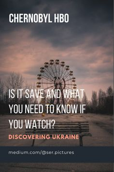 Is it save and what you need to know if you watch?  #chernobyl #HBO #tvseries #tvshow #bestshow #history
