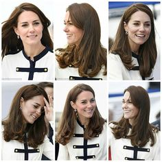 The Duchess of Cambridge is visiting the headquarters of 1851 Trust, of which she is Royal Patron, to launch the 1851 Trust's two flagship sailing projects. The 1851 Trust, which is supported by Ben Ainslie Racing, the team to bring the America's Cup back to where it all began in 1851. Kate is wearing an alexander mcqueen skirt and top . 20 May 2016 Princess Style, Princess Kate, Princess Charlotte, Princess Fashion, Princess Diana And Charles, Prince William And Kate, William Kate, Duchess Kate, Duke And Duchess