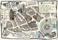 La ciudad medieval de Bristol se centró en el alto de la Cruz, en el cruce de Corn Sty High Street. Sus raíces medievales son todavía visibles en el modelo de las calles y los pasajesocultos, que...
