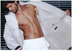 Juan Betancourt Models Tom Ford in Fashion for Men
