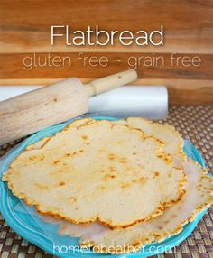 This versatile grain free and gluten free flat bread works great as a pizza crust or even a tortilla! Ingredients: 1 cup Coconut Flour 1/2 cup Tapioca Flour 1/4 cup Arrowroot Flour 2 large eggs 3/4 cup water 1/2 tsp salt 1 tsp baking powder