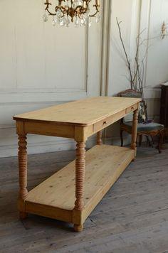 フレンチアンティークテーブル KA081444  - アンティーク家具のAntiques *Midi【アンティークス ミディ】