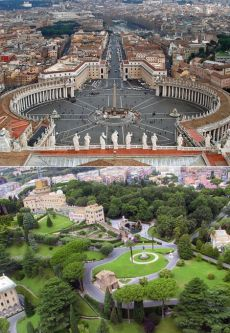 Ватикан: виртуальный тур по самому маленькому государству
